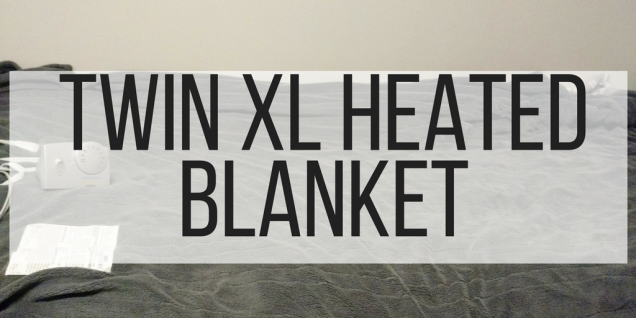 Twin XL Heated blanket