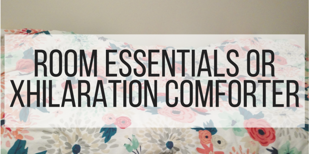 Room Essentials or Xhilaration Comforter