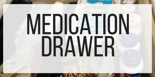 medication drawer